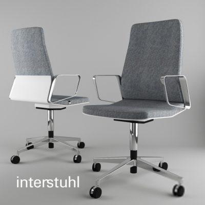 Interstuhl Office Chair 3D Model