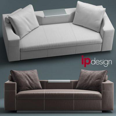 IpDesign Oasis Sofa 3D Model