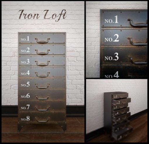 Iron Loft Chest-24 3D Model