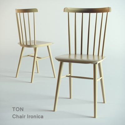 Ironica Ton Chair 3D Model