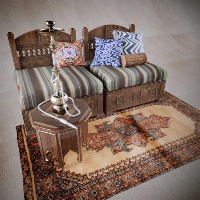 Arabic Sofa 3D model