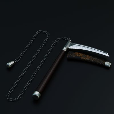 Japanese Weapons 3D model