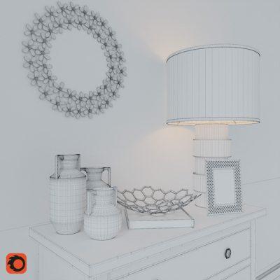 Jason Home Decorative Set 3D Model 3