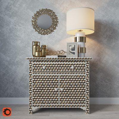 Jason Home Decorative Set 3D Model