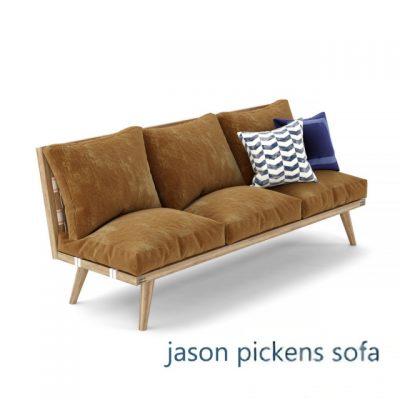 Jason Pickens Sofa 3D Model