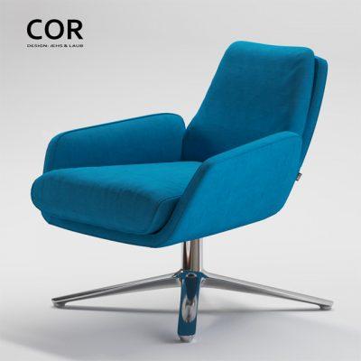 Jehs & Laub Cordia Armchair 3D Model