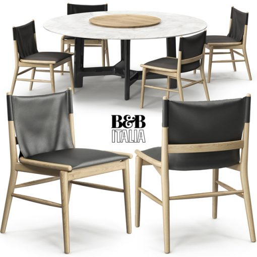 Jens and Alex Table & Chair 3D Model
