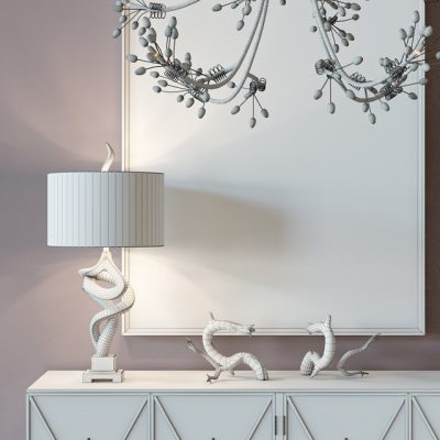 John Richard Classic Reflections Decor 3D Model