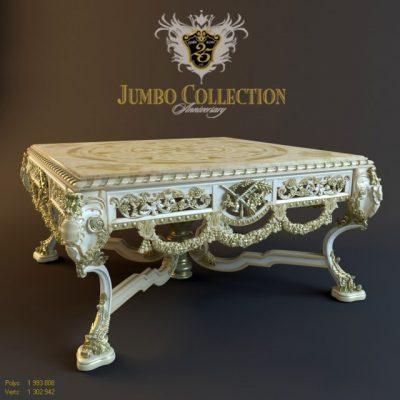 Jumbo Collection Aniversary Table 3D Model