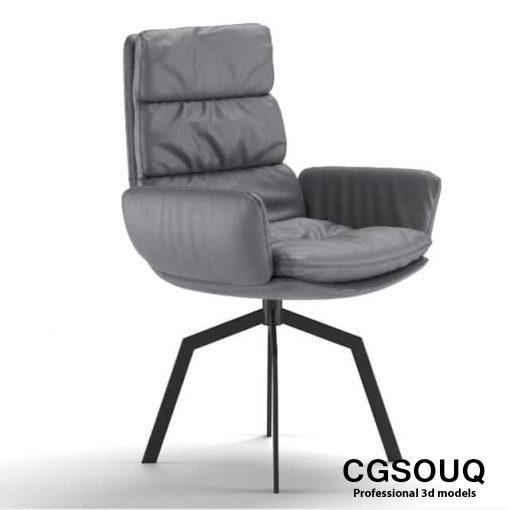 KFF Arva Chair 3D model
