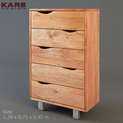 Kare Design Nature Line Ladekast – Chest of Drawers 3D Model
