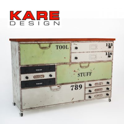 Kare – Do It Yourself Chest 3D Model