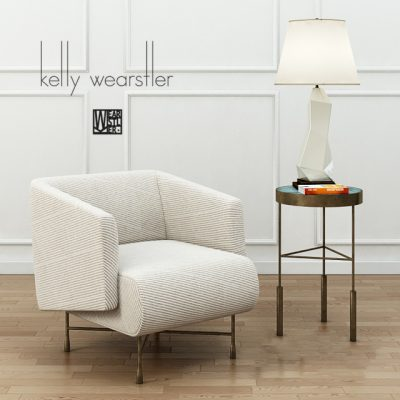 Kelly Wearstler Bijoux Lounge Chair 3D Model