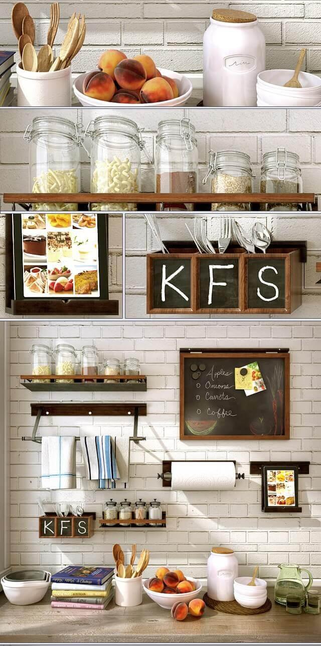 Kitchen set PB 02 kitchenware 3D model 2