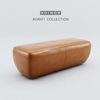 Koinor Avanti Pouf 3D Model
