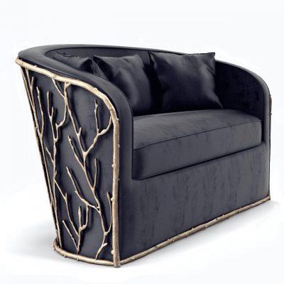 Koket Enchanted Sofa 3D Model 2