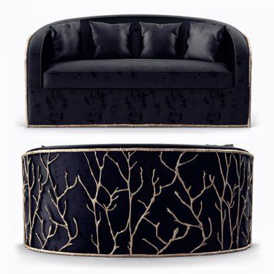Koket Enchanted Sofa 3D Model
