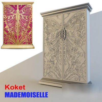 Koket Mademoiselle Wardrobe 3D Model