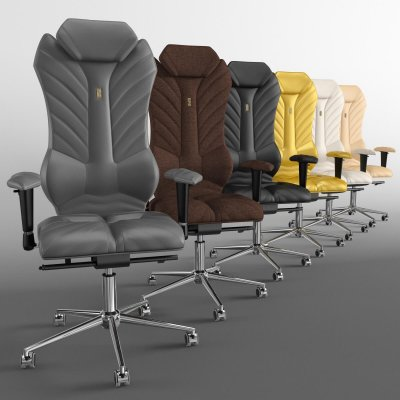 Kulik Luxury Ergonomic Office chair 3D model (1)