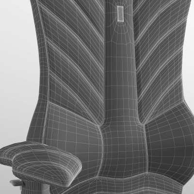 Kulik Luxury Ergonomic Office chair 3D model (4)