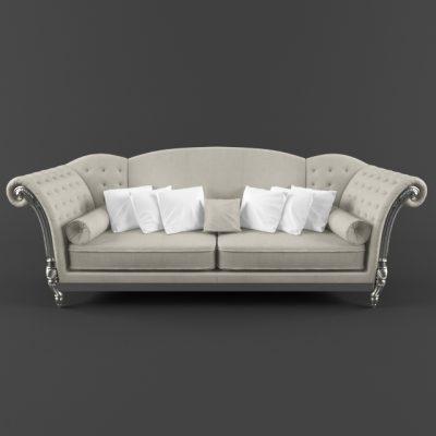 L-Neoklasika Sofa 3D Model