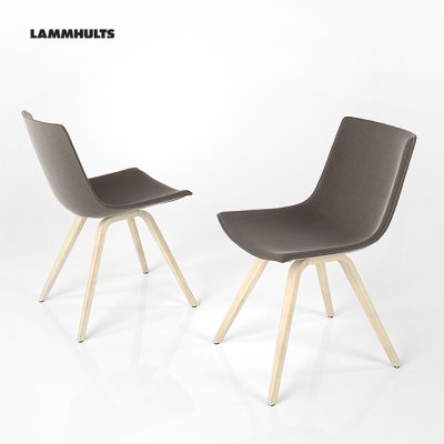 Lammhults Comet Sports Table & Chair 3D Model