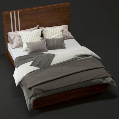 Lance Bed 3D Model