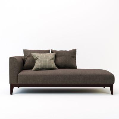 Langley Lounge Sofa 3D Model