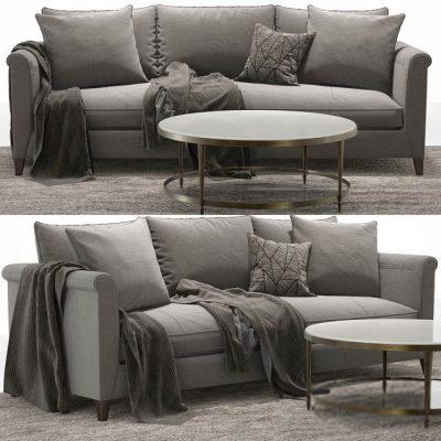 Laura Kirar Sofa Set 3D Model