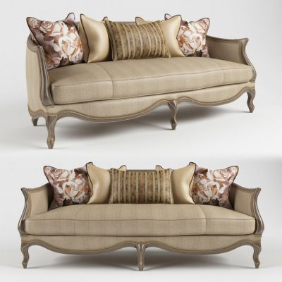 Le Canape Sofa 3D Model