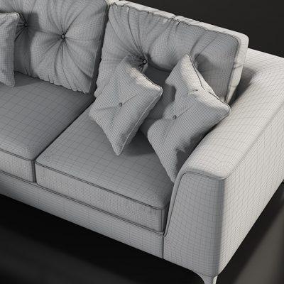 LeComfort Steven Sofa 3D Model 3