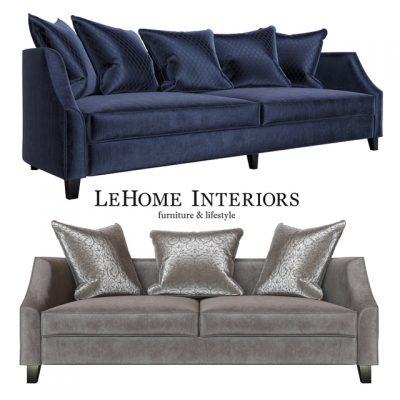 LeHome Interiors S060 Sofa 3D Model