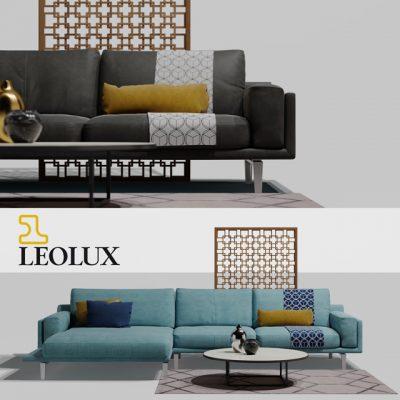 Leolux Bellice Sofa Set 3D Model