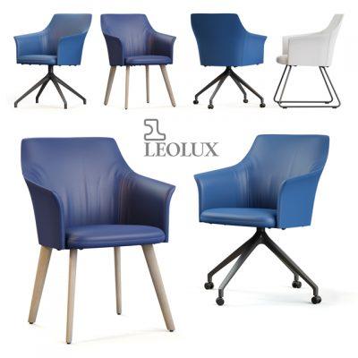Leolux Mara Chair 3D Model