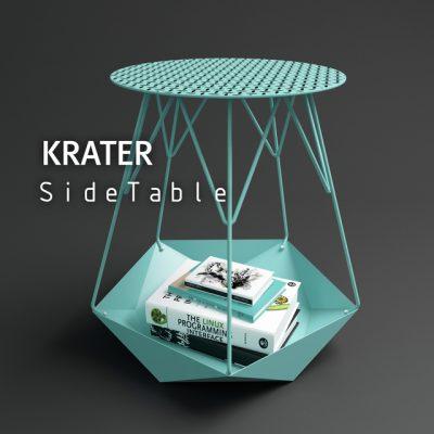 Levantin Design Krater Side-Table 3D Model