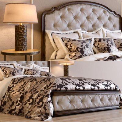 Liberty Amelia Queen Bed 3D Model