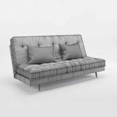 Ligne Roset Nomade Express Sofa 3D Model 3