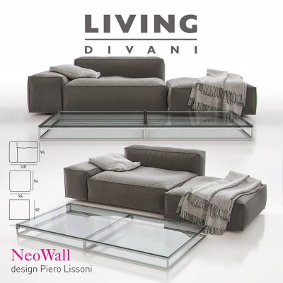 Living Divani – NeoWall Sofa Composition II 3D model