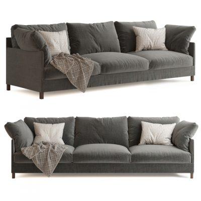 Living Divani Chemise Sofa 3D Model