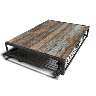Loft Pallete Coffee Table 3D Model