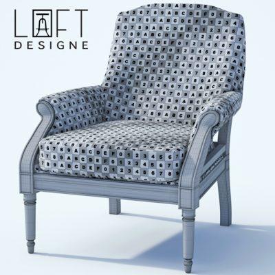 LoftDesigne 155 Chair 3D Model