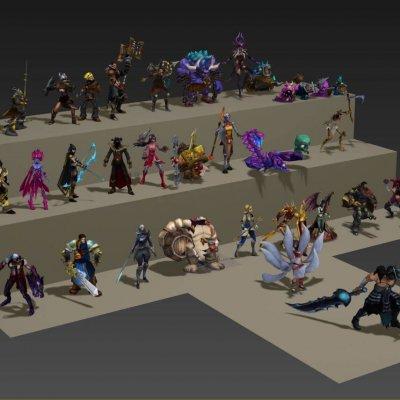 Lol figure 3d model