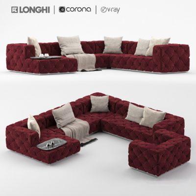 Longhi Must Vol.02 Sofa 3D Model
