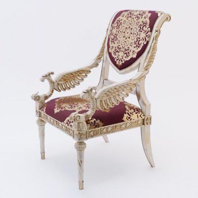 Louis XVI Style Chair 3D Model