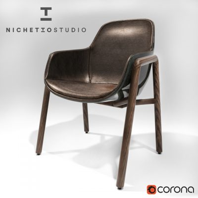 Luca Nichetto Stella Chair 3D Model
