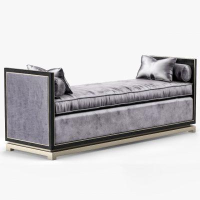 LuxDeco Bronze Vlll Chaise 3D Model