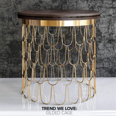 Luxury Side Table-02 3D Model