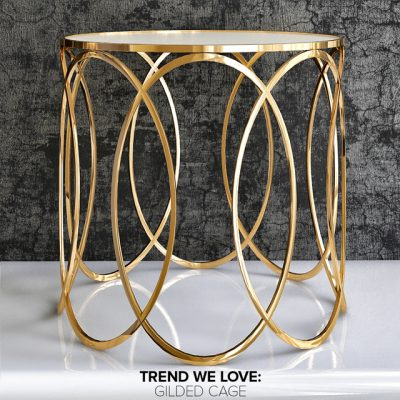Luxury Side Table 3D Model