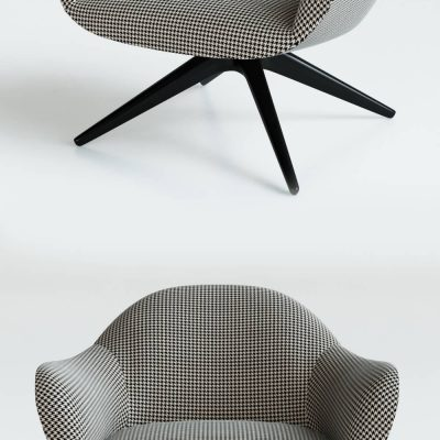 Poliform MAD CHAIR Armchair 3D model