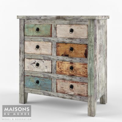 Maisons du Monde Chest of Drawers 3D Model